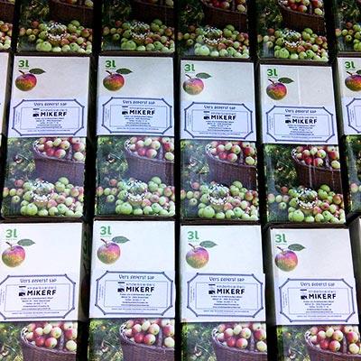 Aralea - Kinderboerderij Mikerf - appelsap